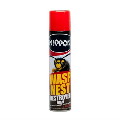 Vitax Nippon Wasp Nest Destroyer Foam 300ml (5NWN300)
