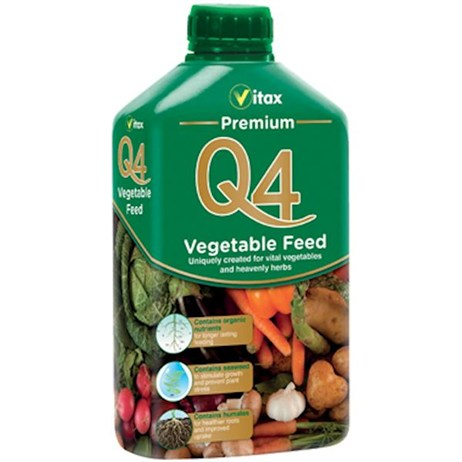 Vitax Q4 Premium Vegetable Feed 1L (6QFV1)