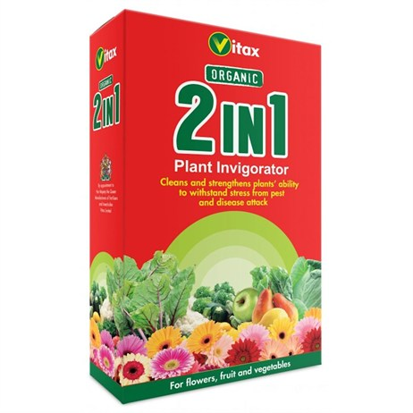 Vitax Organic 2 in 1 Plant Invigorator 250ml Concentrate (5O21256)
