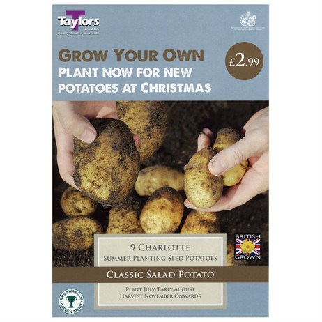 Taylors Bulbs Potato Charlotte - 9 Pack (VP601)