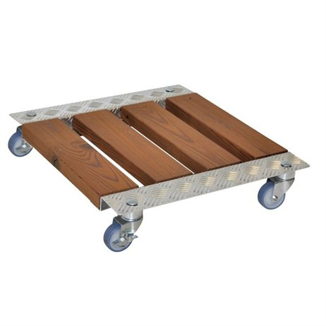 Wagner Pegasus Basic 490 x 560mm Rectangular Pine Plant Trolley (20705001)