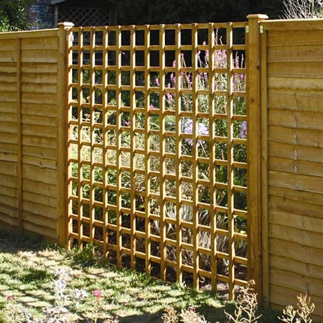 Heavy Duty Trellis Brown 183x152cm from Woodlands