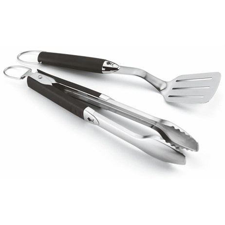 Weber Original Portable 2 Piece Tool Set (6645) Barbecue Accessory