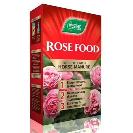Westland Rose Food Enriched Horse Manure 3kg (20100234)