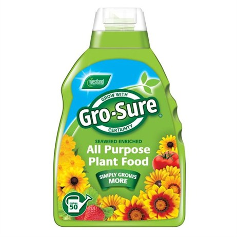 Gro-sure Seaweed Enriched All Purpose Plant Food - 1L (20100263)
