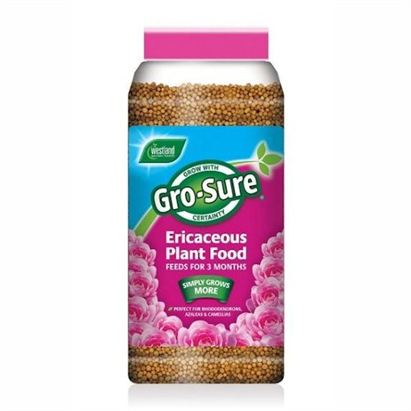 Gro-Sure 3 Month Slow Release Ericaceous Plant Food - 900g (20100302)