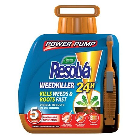 Resolva 24H Ready To Use Power Pump Weed Killer - 5 Litre (20300470)