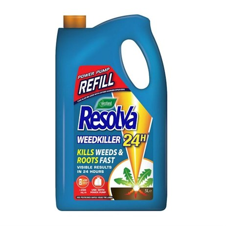 Resolva 24H Ready To Use Power Pump Weed Killer Refill - 5 Litre (20300472)