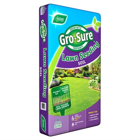 Westland Gro-Sure Lawn Seeding Soil 30L (11200059)