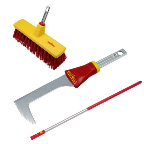 WOLF-Garten Multi-Change® Broom, Scraper and 150cm Handle (P504)