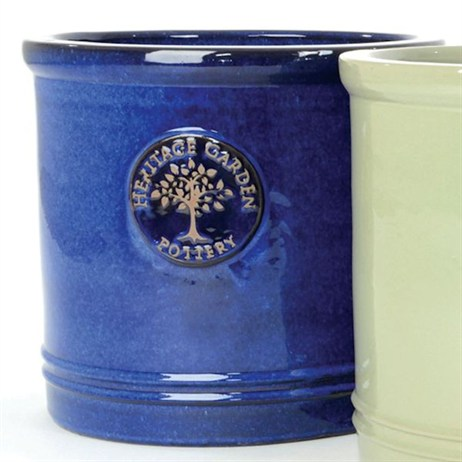 Woodlodge Edwardian Cylinder Pot No.1 - Blue (YECYLB1)