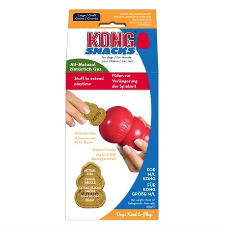 Kong Stuff n' Small (200g) Snacks Bacon/Cheese for Dogs (XO3)