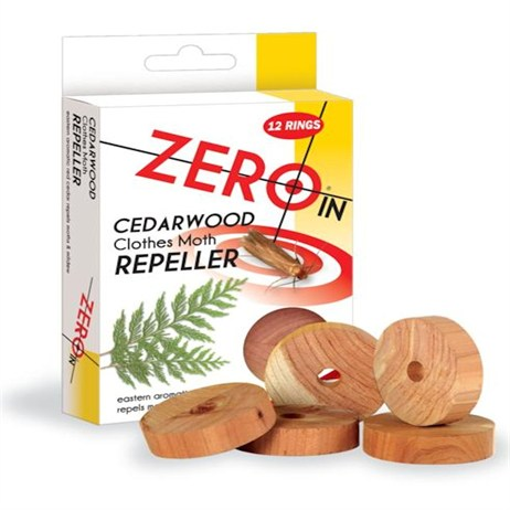 STV Cedarwood Clothes Moth Repeller 12 Rings (ZER035)
