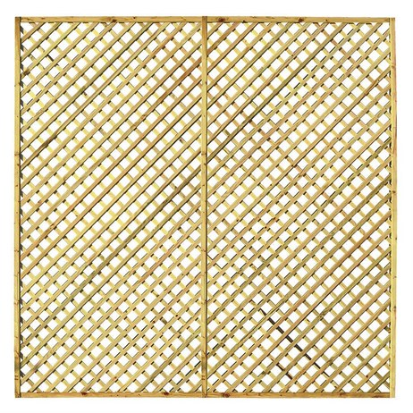 Zest 4 Leisure Hillside Diamond Trellis 1.83 x 1.83m