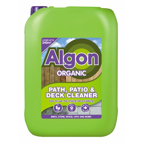 Algon Organic Path Patio and Decking Cleaner Concentrate 10L Drum