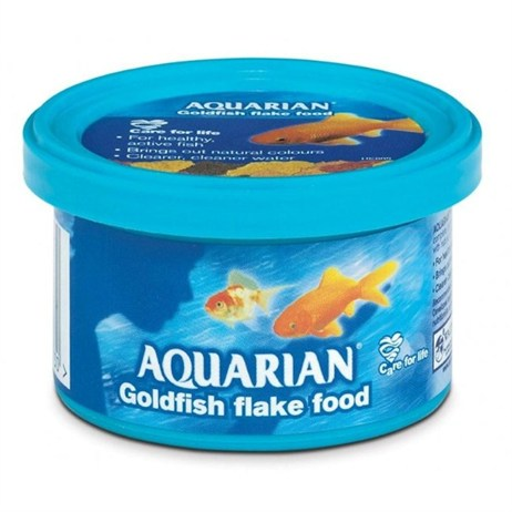 Aquarian Goldfish Flake 13g Fish Food