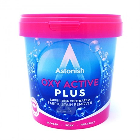 Astronish Oxy Active Plus Super Concentrated Fabric Stain Remover - 1Kg (Mrs Hinch)
