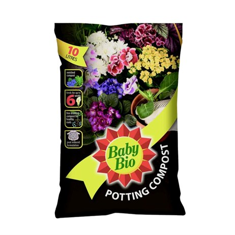 Bayer Baby Bio Houseplant Compost 10L (85000004)