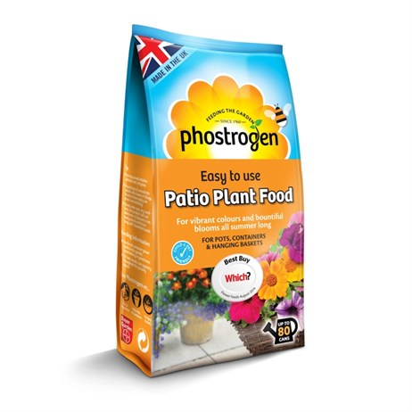 Bayer Phostrogen Patio Plant Food 80 Can Pouch (84895105)