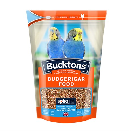 Bucktons Budgerigar Bird Food - 500g (0100901)