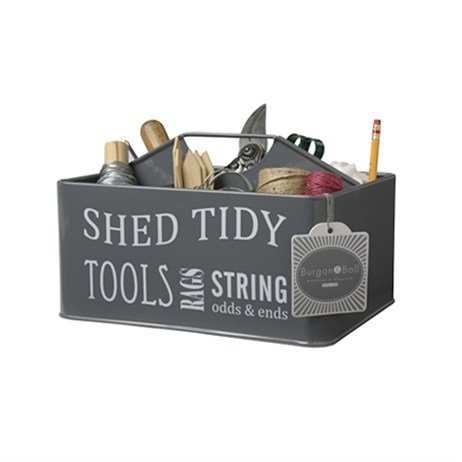 Burgon & Ball Shed Tidy - Slate Grey (GYO/SHEDGREY)