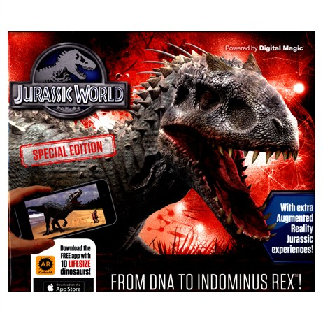 Carlton Books Jurrassic World From DNA to Indom AR Childrens Book
