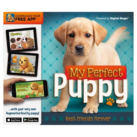 Carlton Books My Perfecr Puppy AR Childrens Book