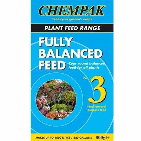 Chempak Formula 3 Fully Balanced Soluble Plant Food 800g
