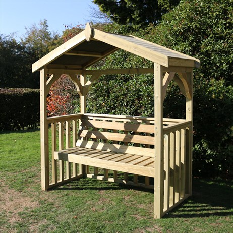 Churnet Valley Anastasia Wooden Arbour (AA102) DIRECT DISPATCH