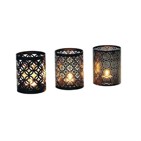 Cole & Bright Arabian Candle Holder - Set of 3 (17614)
