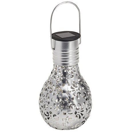 Cole & Bright Solar Filigree Lightbulb - Small (L26220)