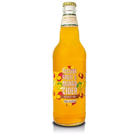 Cottage Delight Passion Fruit & Mango Cider Alcohol - 500ml (CD760754)