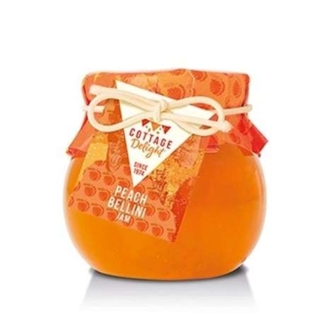 Cottage Delight Peach Bellini Jam - 113g (CD100117)