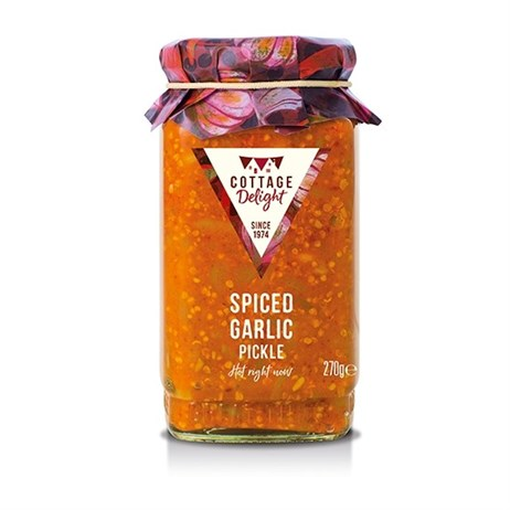Cottage Delight Spiced Garlic Pickle - 270g (CD250016)