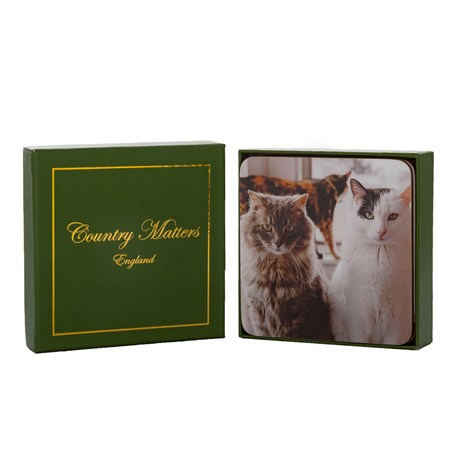 Country Matters Cats Coasters (CMCOTCAT0001)