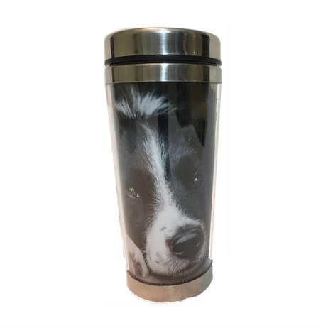 Country Matters Collie Chill Out Thermal Mugs (CMTMUG0130)