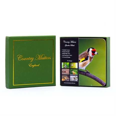 Country Matters Garden Birds Coasters (CMCOTGB0002)