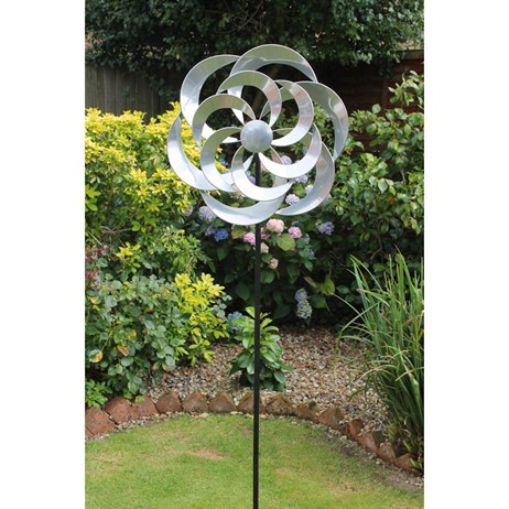 Creekwood Cotswold Wind Spinner - Silver (48041)