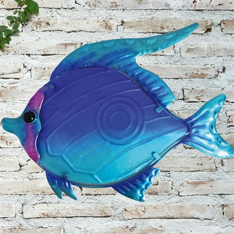Creekwood Fish Glass Wall Art (48027)