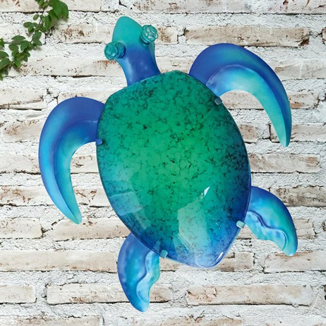 Creekwood Turtle Glass Wall Art (48026)