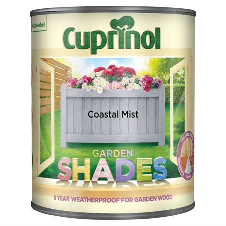 Cuprinol Garden Shades Paint - Coastal Mist 1L (5122390)