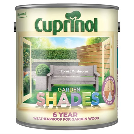 Cuprinol Garden Shades Paint - Forest Mushroom 2.5L (5232387)