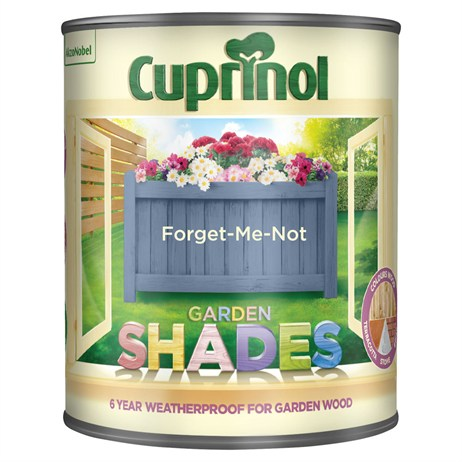 Cuprinol Garden Shades Paint - Forget Me Not 1L (5083471)