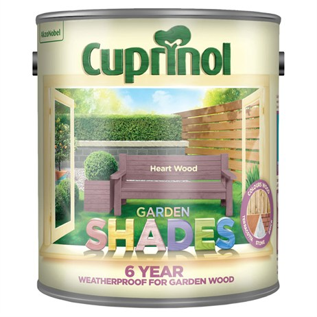 Cuprinol Garden Shades Paint - Heart Wood 2.5L (5282515)