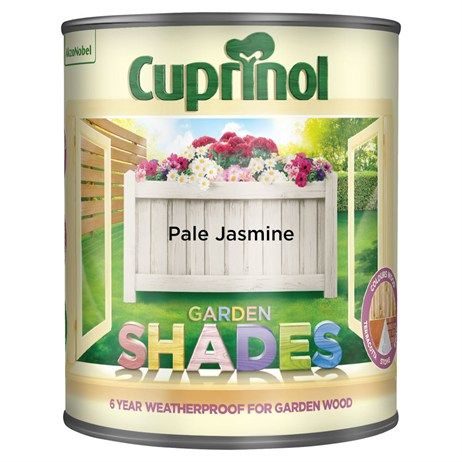 Cuprinol Garden Shades Paint - Pale Jasmine 1L (5092582)