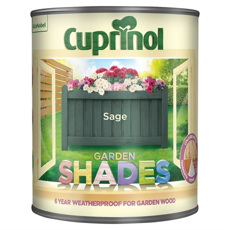 Cuprinol Garden Shades Paint - Sage 1L (5083478)