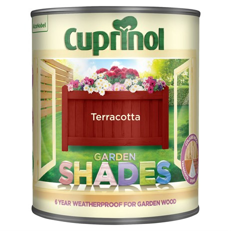 Cuprinol Garden Shades Paint - Terracotta 1L (5092559)