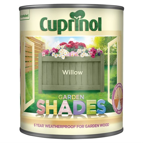 Cuprinol Garden Shades Paint - Willow 1L (5083483)