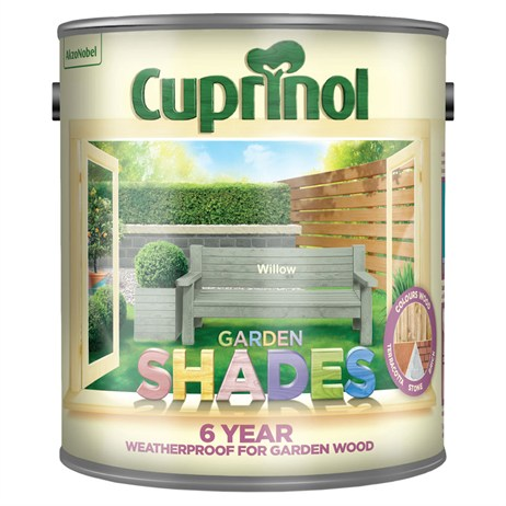 Cuprinol Garden Shades Paint - Willow 2.5L (5083484)