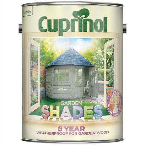 Cuprinol Garden Shades Paint - Willow 5L (5092570)